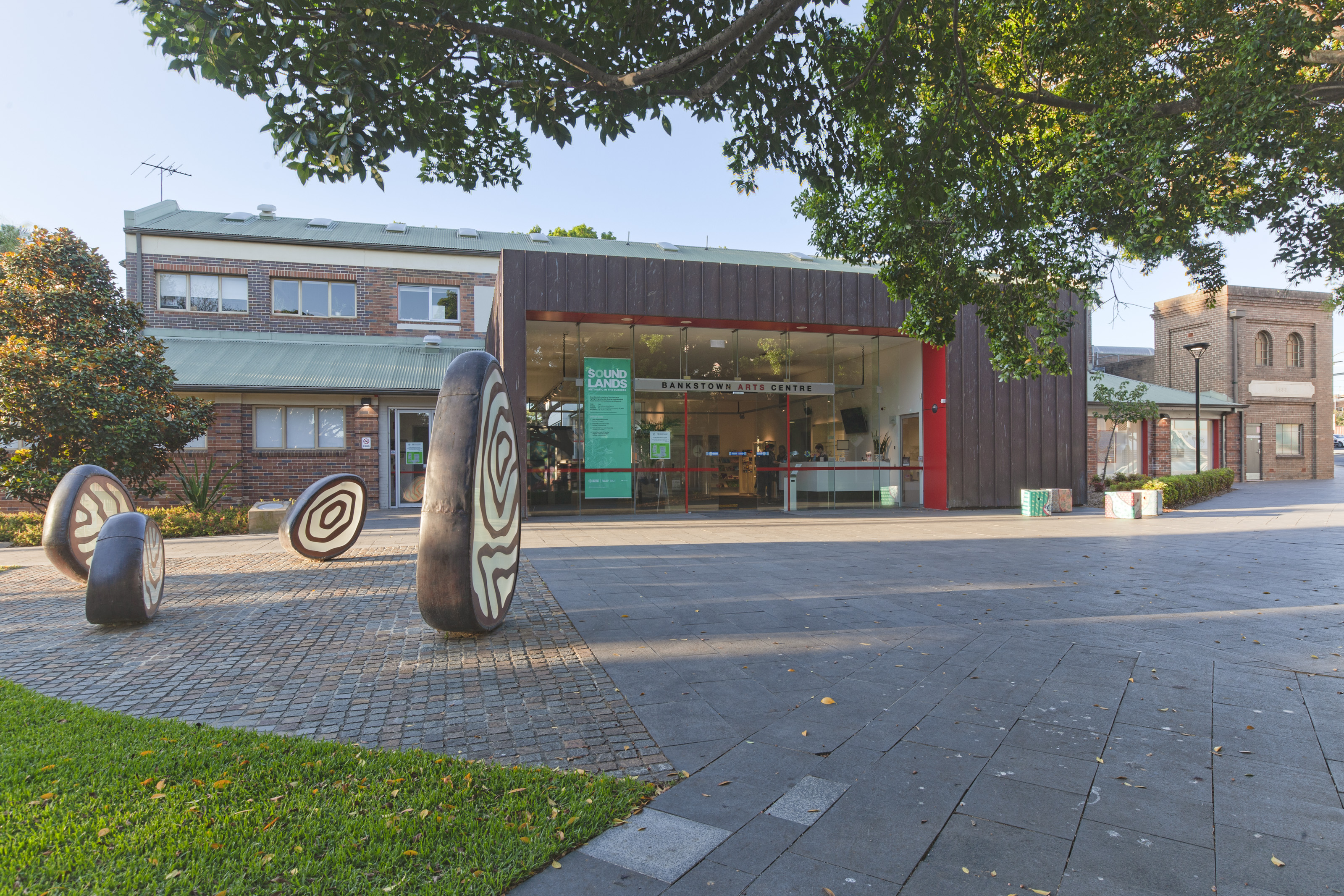Photo of the arts centre entrance