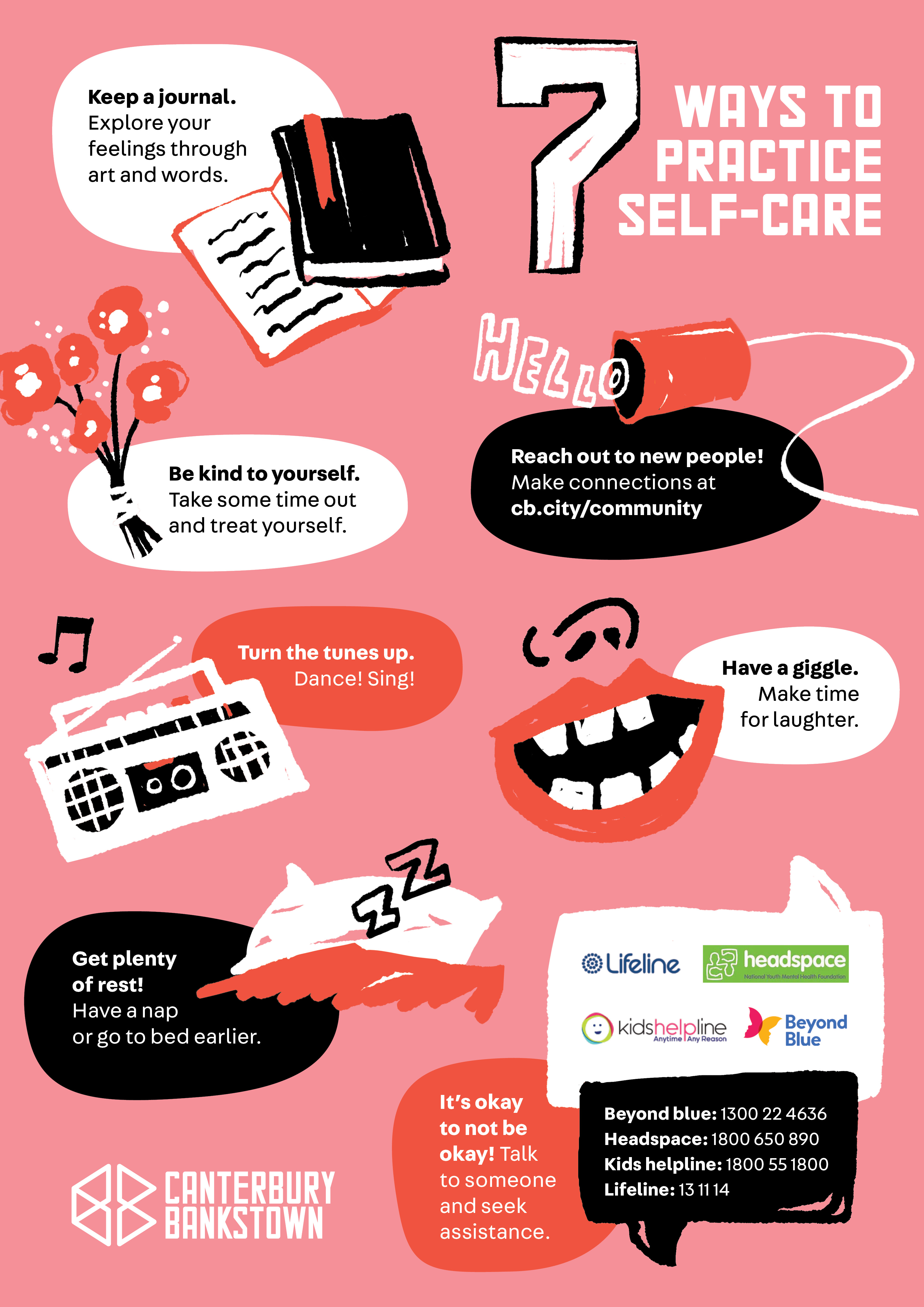 a guide to 7 ways to practice self-care